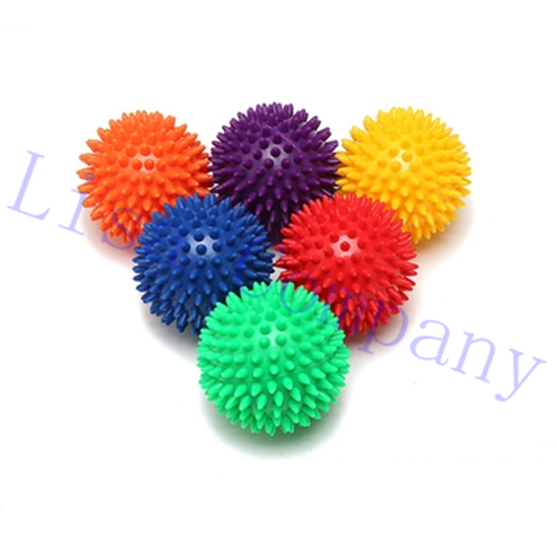 diameter 7.5cm Mini foot sole relaxed yoga balls slim body fitness lose weight adult female point massage balls
