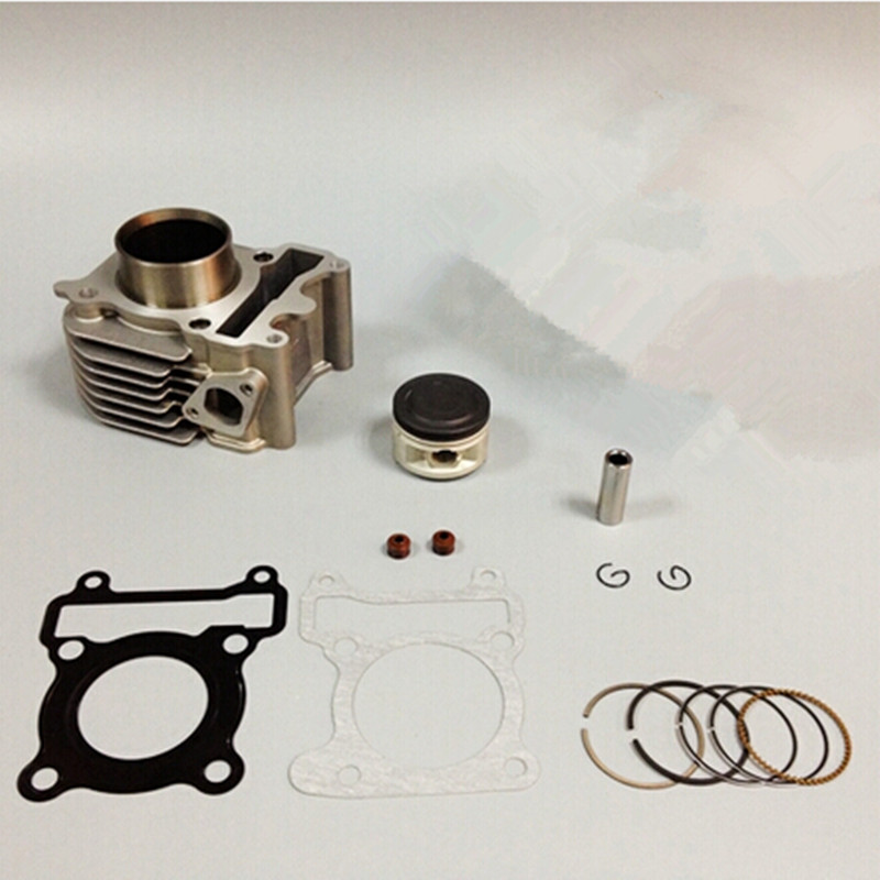 LOPOR 49mm Cylinder KIT & Piston Set & Gasket All Sets For Yamaha ZY100 RSZ JOG 100CC Motorcycle Air-Cooled NEW 2sets lot 2088 high quality motorcycle cylinder kit for yamaha zy100 rsz100 rs100 jog100 zy rs jog 100 100cc engine spare parts