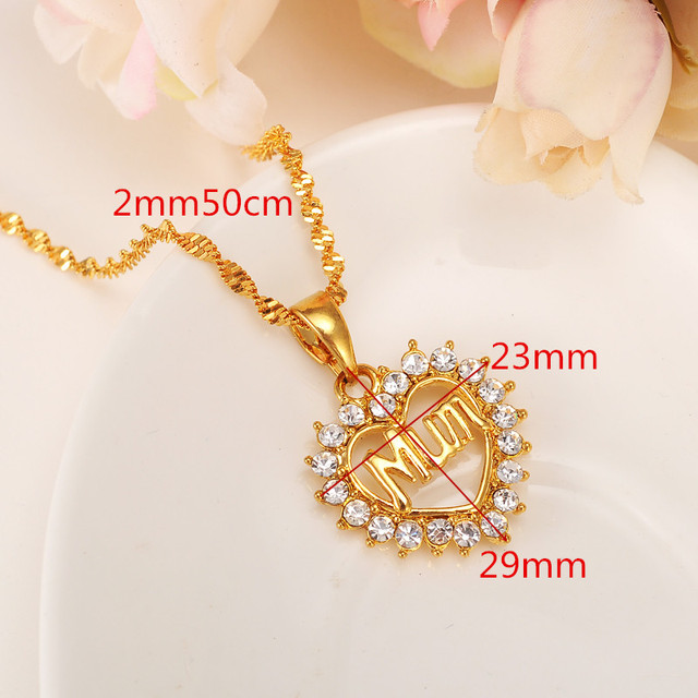 Cute alphabets stamp mum pendant rhinestone 9 k yellow solid gold cute alphabets stamp mum pendant rhinestone 9 k yellow solid gold gf heart pendant dear mother mozeypictures Image collections