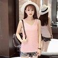 Vlaue bebés arropa camiseta de rayas niñas año nuevo primavera verano t-shirt ropa de los niños top camisetas camisetas para chica FX6030