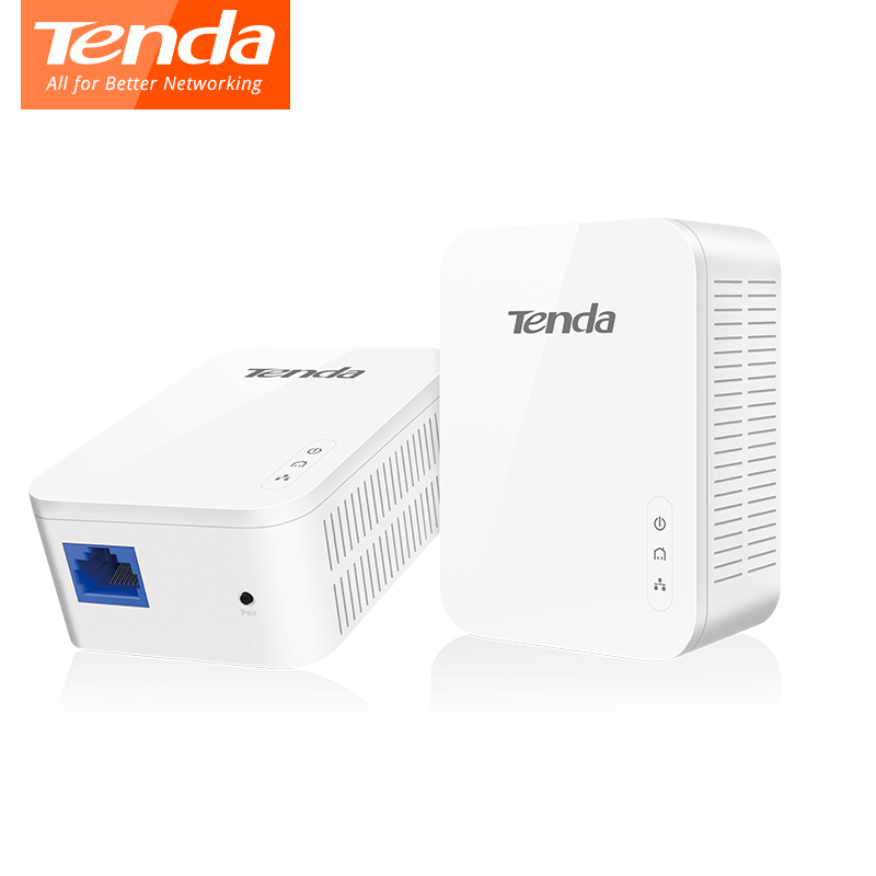 Tenda PH3 AV1000 Gigabit Powerline Adapter AV1000 Ethernet PLC Adapter KIT IPTV Homeplug AV2 Gigabit Network