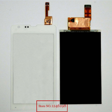 TOP Quality White LCD Display+Touch Screen Digitizer For Sony Xperia SP M35t M35h C5302 C5303 C5306 Replacement Part
