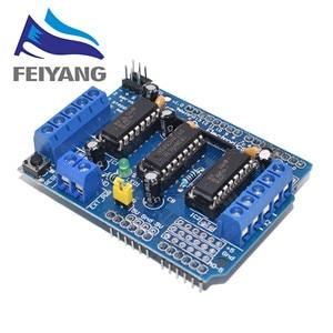 Image 1 - 10pcs L293D L293 H Bridge Motor Shield Stepper Driver Board Control Module Motor Drive Expansion Board