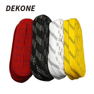 Skate Laces Hockey-Shoe Design-Suit for 96in 108in Waxed-Tip Braid Extra Dual-Layer
