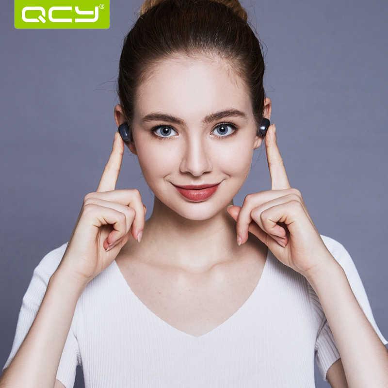 QCY Q29 Bluetooth Thể Thao Không Dây Tai Nghe Loại Bỏ Tiếng Ồn 3D Stereo Tai Nghe Nhét Tai có Mic và Sạc Hộp