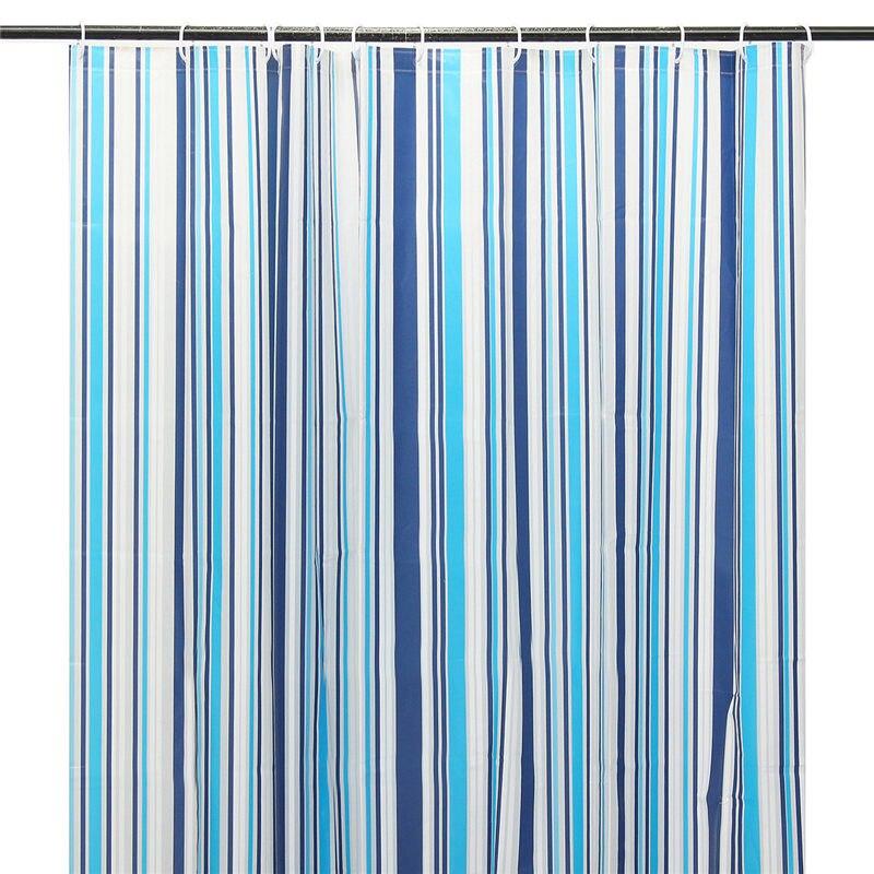 Hot Práctico 180x180 cm Tela Impermeable Baño Cortina de Ducha de PEVA Baño Casa