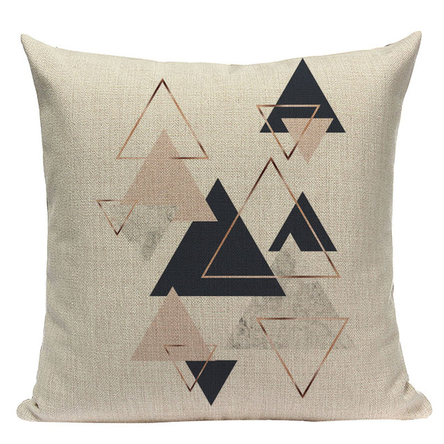Nordic Pop Geometric Pillowcase Size: L313 Color: L313-24