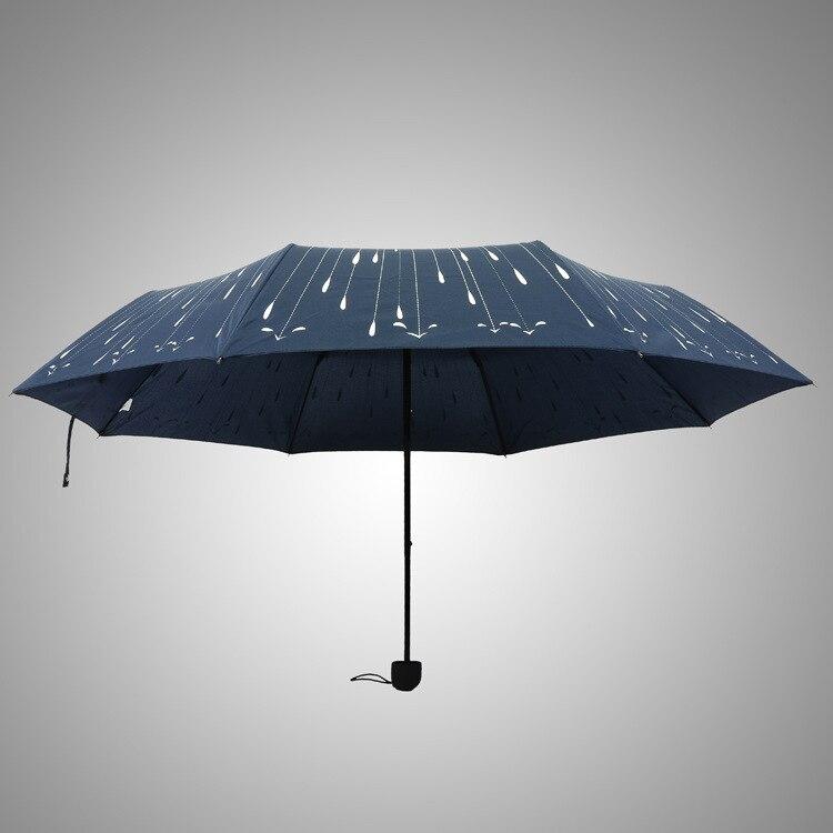 Windproof Anti UV Clear//Rain Princess Folding Umbrella Fashion Ladies Umbrella