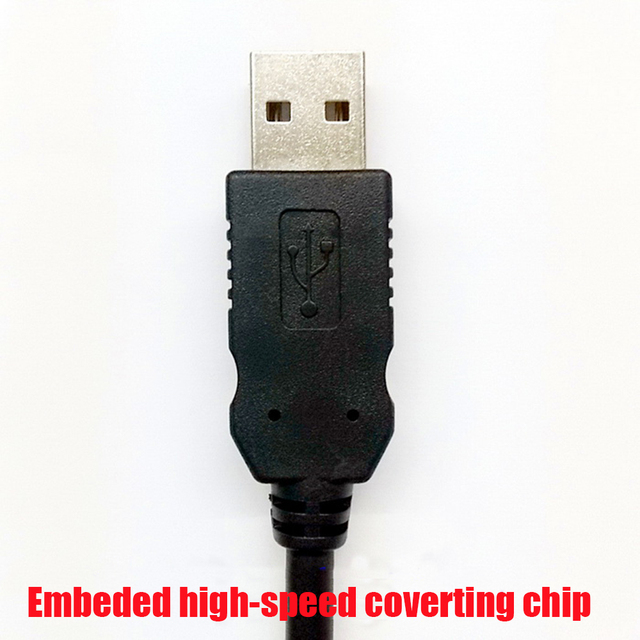 5 Stücke BarCode Scanner Kabel, PS2 zu USB, 2M7ft, KB2USB Für ...