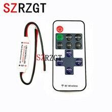 ミニ DC12V led コントローラ調光器 12A ワイヤレス rf 制御するためのリモート単色ストリップ照明 3528 5050 led ストリップ