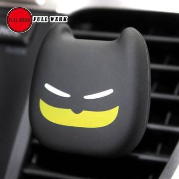2 unids/pack de ambientador con Clip de ventilación de aire acondicionado para coche, Perfume sólido de diseño de dibujos animados, Clip de Perfume para coche, Clip de ventilación, accesorios interiores