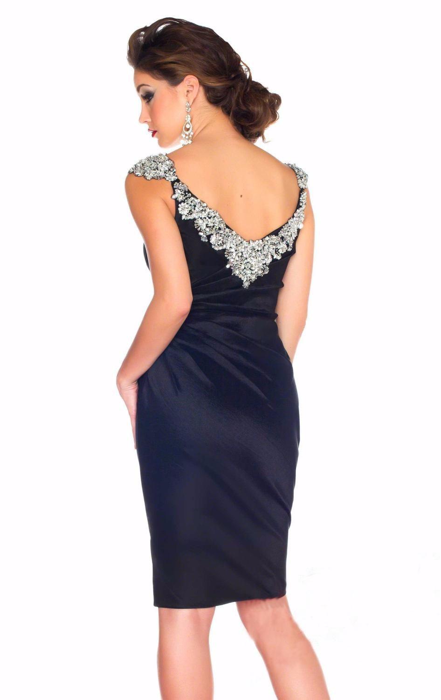 Navy-Blue-Short-Luxury-Cocktail-Dresses-Rhinestones-Sexy-Party-Gown-Satin-Vestidos-Coctel-Dress-2016-Shinning (1)