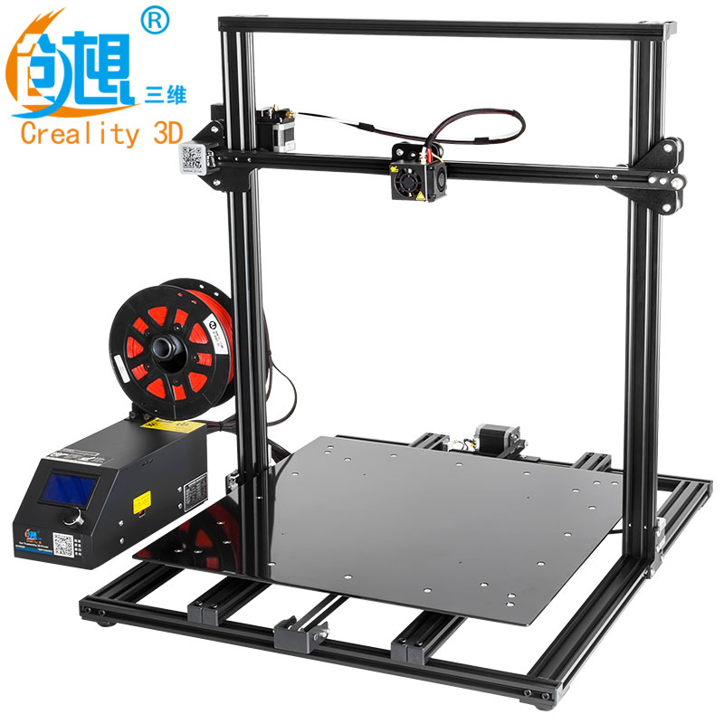 2018 CREALITY 3D Printer Upgrade CR-10 S5 Large Printing Size 500*500*500mm Dual Rod DIY Kit Filament Touch/Normal LCD Option creality 3d cr 10 series large 3d printer large printing size 500 500 500mm diy kit 3d printing machine with aluminum hotbed