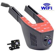 Видеорегистраторы для автомобилей регистратор тире Камера Full HD 1080 P Широкий формат мини Скрытая WI-FI Видеорегистраторы для автомобилей Авто тире Камера видео регистратор Регистраторы