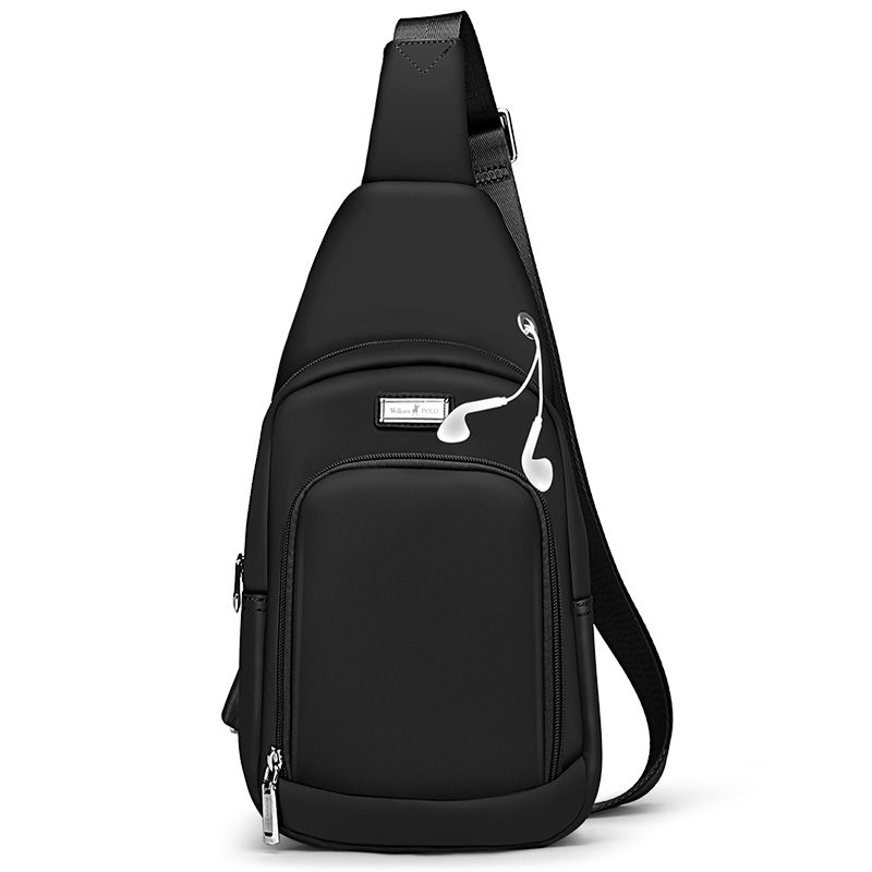 New Male Chest Bag Fashion Leisure Waterproof Man Oxford Cloth Korea Style  Messenger Shoulder Bag For Teenager Bag PL183028 19404bc1a50f3