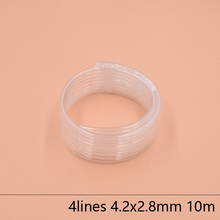 4 Lines eco solvent printer ink tube 4.2X2.8MM for Epson Allwin Mimaki Roland Mutoh hose 10M/lot Large supply system