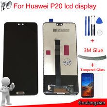 5.8 AAA quality LCD For Huawei P20 LCD Display Touch Screen Digitizer Assembly For P20 LCD EML L09 EML L22 EML L29 LCD