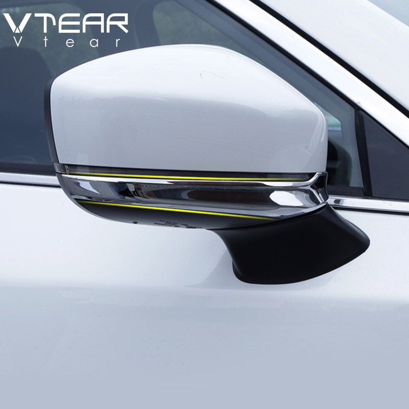 Chrome Side Mirror Strips For Mazda CX3 CX5 Rearview Trims Accessories