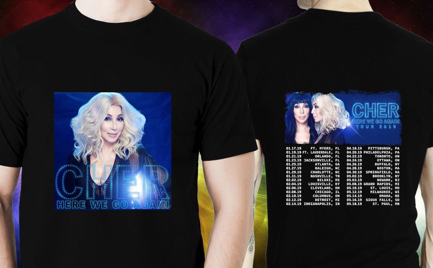 f84511c5 Buy cher t shirt tour and get free shipping on AliExpress.com