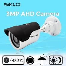 WAN LIN Waterproof AHD Camera 3.0MP Full HD Surveillance Camera with 5.0MP HD Lens