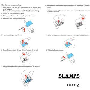Image 5 - Hohe Qualität ELPLP78/V13H010L78 Ersatz projektor lampe mit Gehäuse für EPSON EB 945/X24/965/S17/ s18/EH TW410 EB X200 H552B