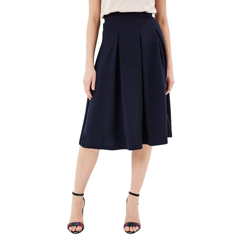 Skirts MODIS M181W00580 skirt for female TmallFS solid pleated skirt