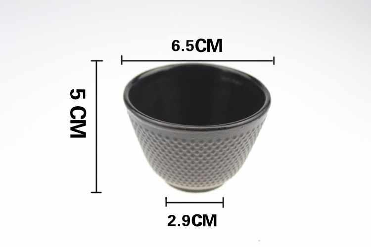 4 Stks/set Gietijzeren Theekopje Set Japanse Thee Kopjes Cup 70 Ml Drinkware Chinese Handgemaakte Kung Fu Koffie Service Tools snelle Verzending