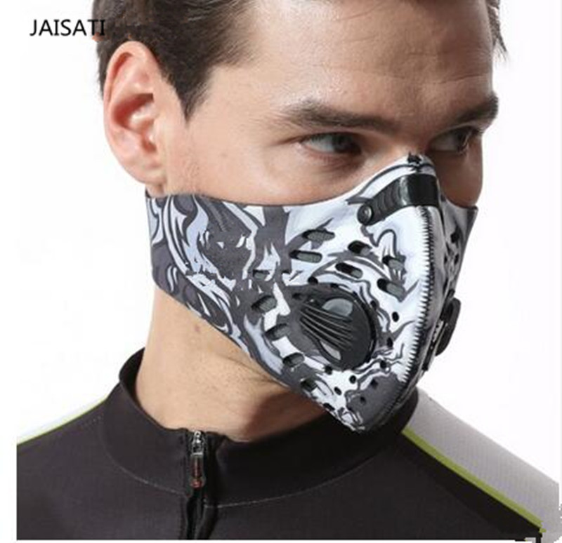 JAISATI Riding  bike outdoor sports wind mask  men and women anti-fog haze dust breathable running cycling  mask outdoor sports cycling mask bike riding variety turban magic bicycle designal scarf women scarves