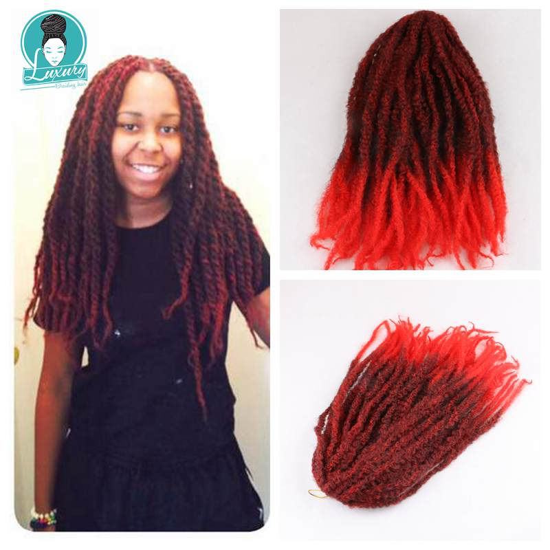 afro kinky curly marley braids31