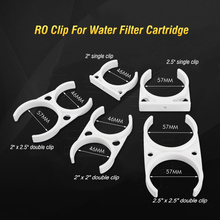5pcs Water Filter Clamp 2.5 Bracket Reverse Osmosis RO Membrane Housing Clip 2 For Water Purifier Parts цена