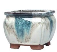 De alta calidad de la personalidad de cerámica Simple flor carnosa olla habitación Oficina Decoración de jardín Mini planta flor olla LFB631