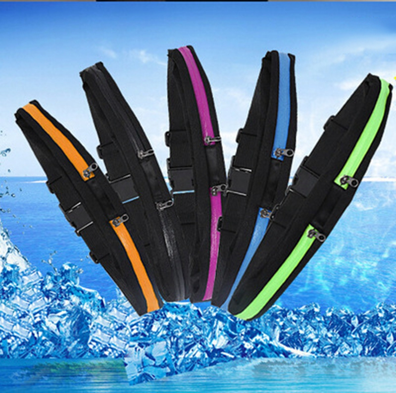 running - Waist Running Bag Outside Sport Mobile Phone Waterproof Mobile Phone Belt Jogging Waist Pack Carrying Portable