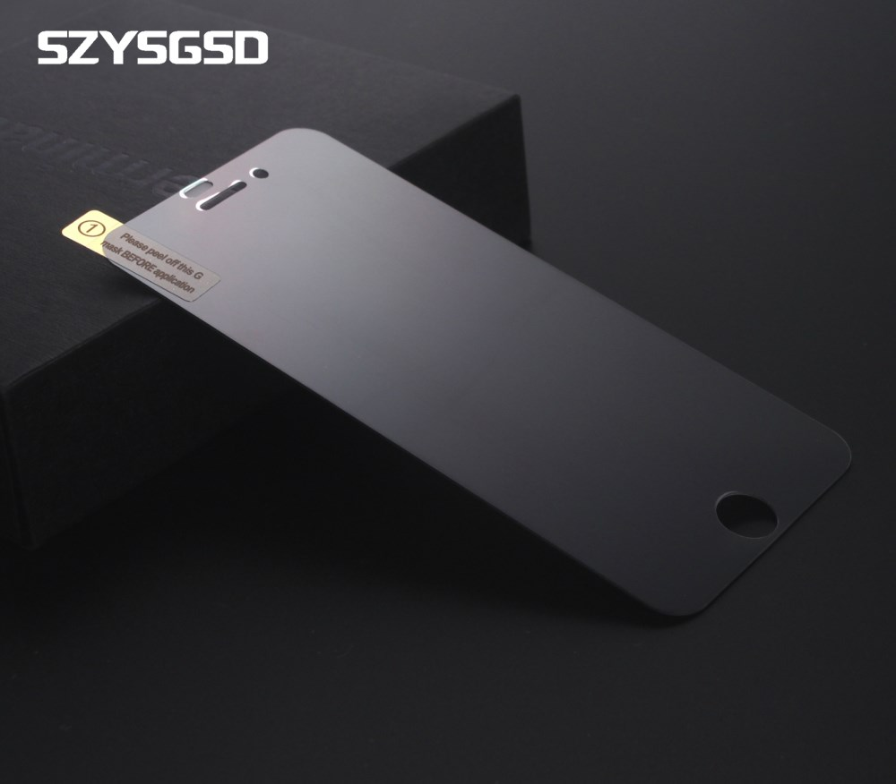 Szysgsd Privacy Screen Protector For Iphone Xs X 8 7 6 6S Plus Anti Glare Tempered Glass For Iphone 6 6S Privacy Protector Matte