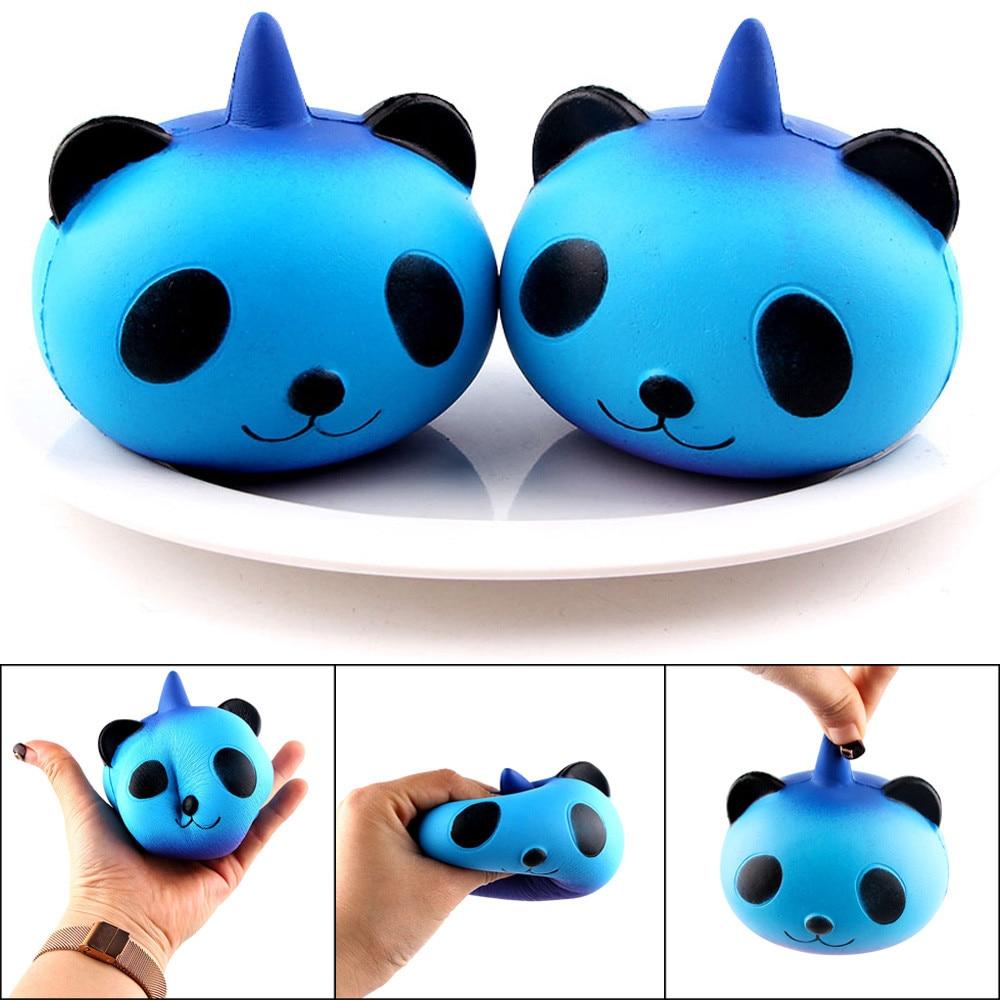 10cm Squishy Antistress Unicorn Panda Baby Jumbo Slow Rising Cute Squishy Toys Stress Reliever Fun Squeeze Anti Stress FE09d