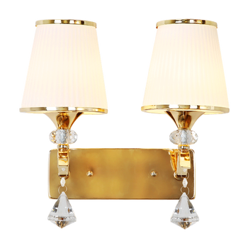 Lámpara De Pared De Noche De Cristal, Lámpara De Pasillo De Escalera Moderna, Lámpara De Pared De Dormitorio De Doble Cabeza, Lámpara De Pared De Hotel Mx4261502