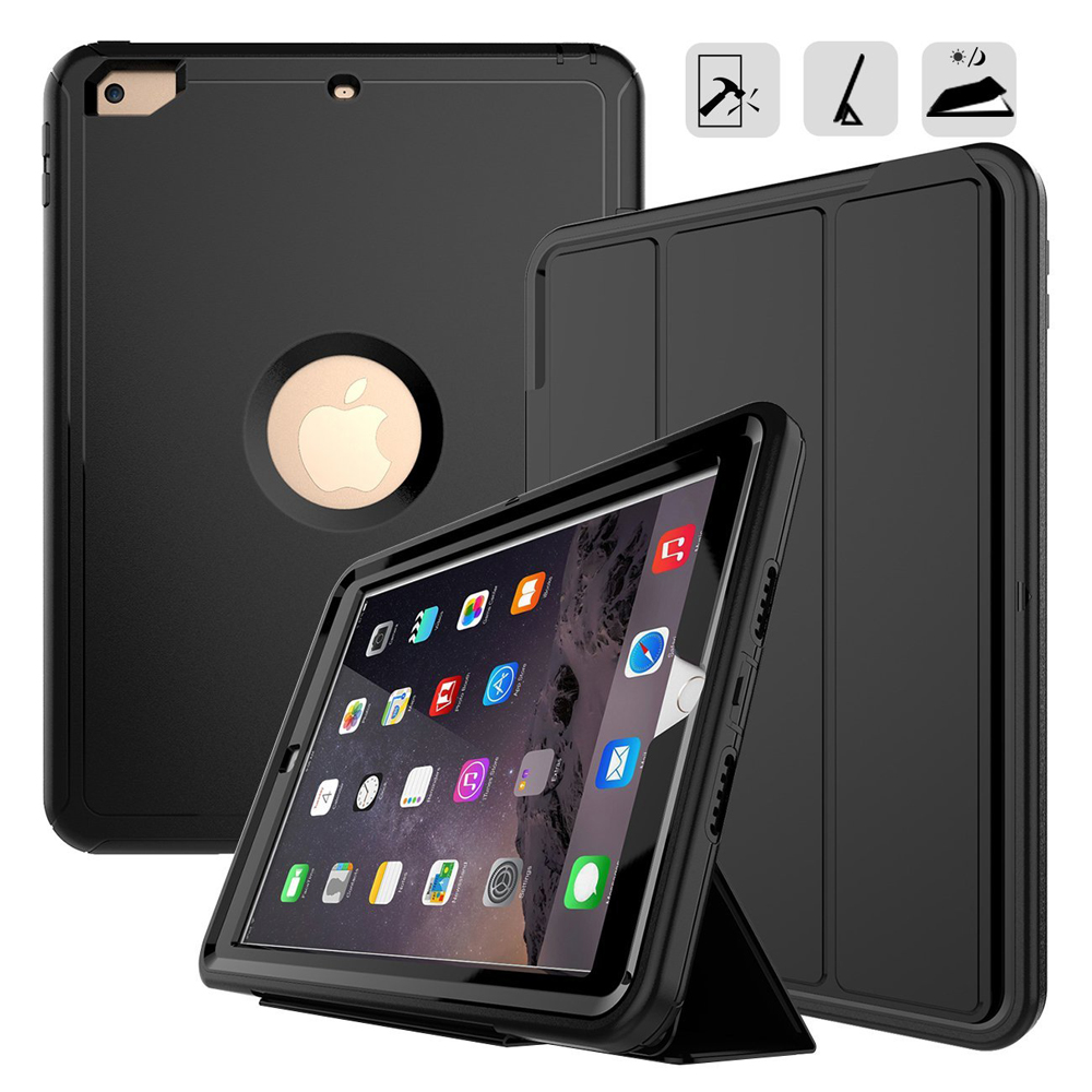 Full protection Case For apple ipad Pro 9.7 A1673 A1674 A1675 Kids Safe Shockproof Heavy Duty TPU Silicone Hard Cover kickstandFull protection Case For apple ipad Pro 9.7 A1673 A1674 A1675 Kids Safe Shockproof Heavy Duty TPU Silicone Hard Cover kickstand