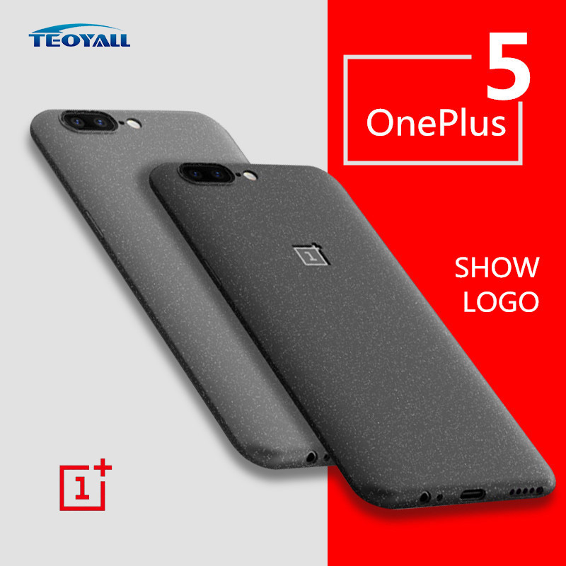 oneplus 5 case cover matte grey teoyall original soft back cover oneplus 5 capa coque funda one. Black Bedroom Furniture Sets. Home Design Ideas