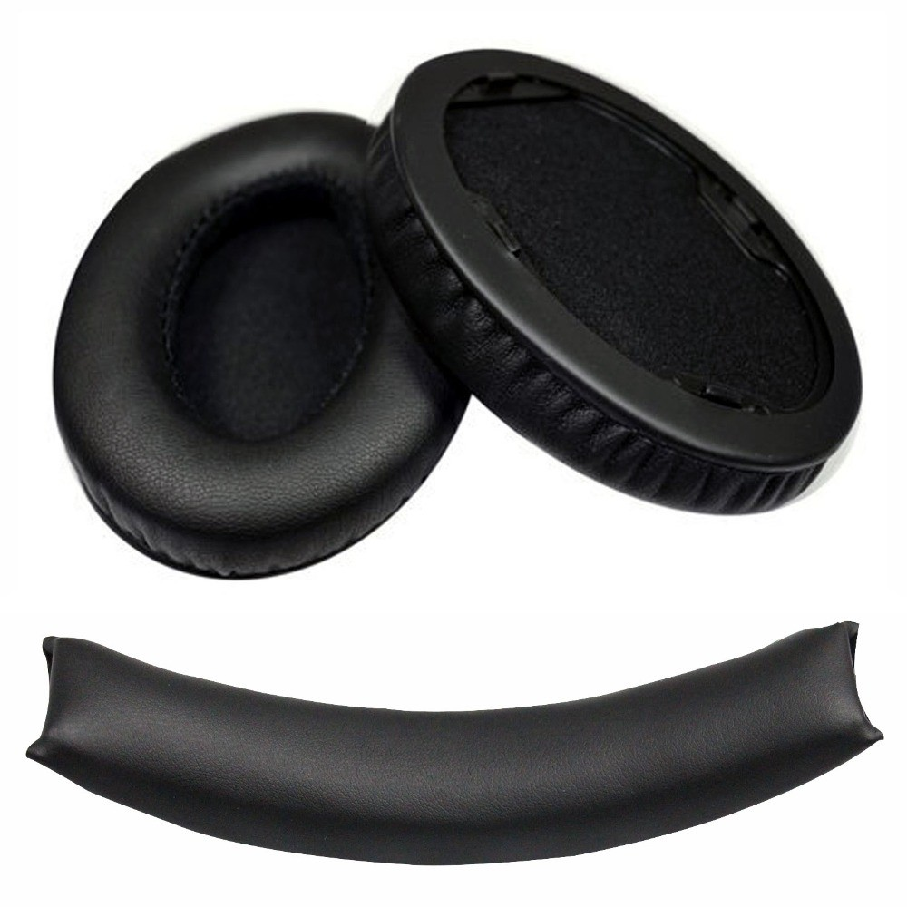 9dfbe033d 1pair Black/white Brand New Replacement Earpad ear pad cushions for Monster  Beats By Dr.Dre Studio Studio 1 studio 1.0 headphone