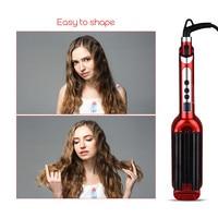 Ceramic Styler Hair Curler Hair Waver Roller 3 Triple Barrel Waver With LCD Display Hair Curling