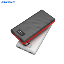 Original PINENG 20000mAh Battery Bank PN969 External Power Bank Portable 20000mAh Power Bank Charge for iPhone HTC Xiaomi Mobile