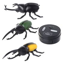 Infrared Remote Control Simulation Beetle Mini RC Animal Kids Child Super realistic beetle Toy Boy Gift