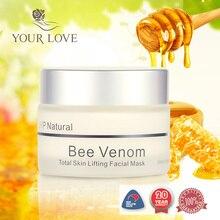 Оригинальный Новозеландский JYP пчелиный яд укрепляющая маска подтяжка кожи крем для лица Манука Мед ночной крем против морщин маска для лица