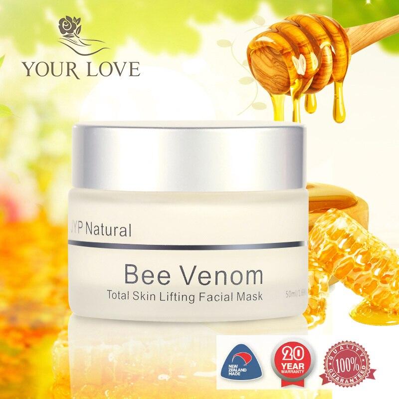 Original Nouvelle Zélande JYP Venin D'abeille Masque raffermissant La Peau Lift Visage Crème Miel De Manuka Night Crème Anti Vieillissement Rides Masque visage
