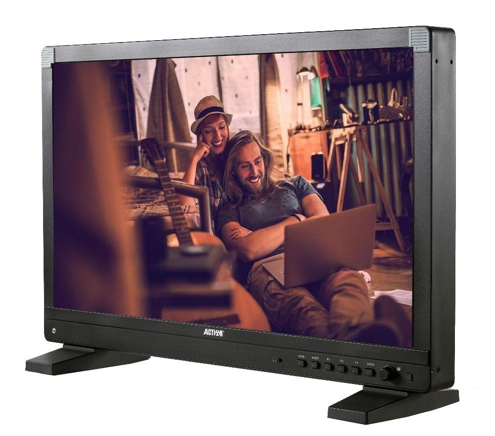 Moniteur de diffusion de AT-2150HD d'action RUIGE moniteur de directeur 21.5 avec moniteur de boîtier HD SDI 1920*1080 1200cd/m2 SDI HDMI