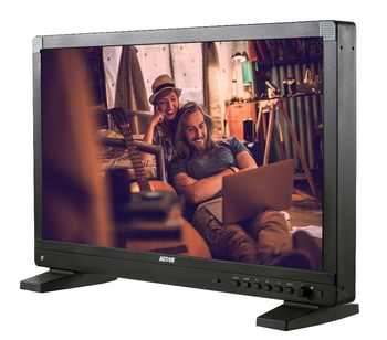 """Moniteur de diffusion de AT-2150HD d'action RUIGE moniteur de directeur 21.5 """"avec moniteur de boîtier HD SDI 1920*1080 1200cd/m2 SDI HDMI"""
