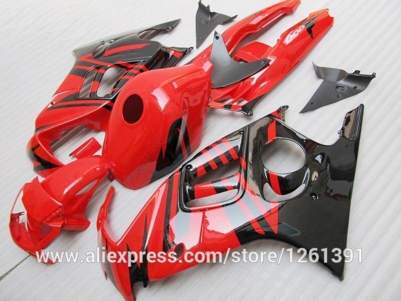 Для HONDA Для детей ростом 95-96 CBR600F3 красный/черный CBR 600F3 95 96 CBR600 F3 Y3456 CBR 600 F3 1995 1996 обтекатели