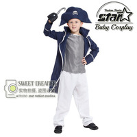 High Quality Children S Classic Halloween Boys Hook Pirate Costume Kids Stage Suit For Kids Pirates