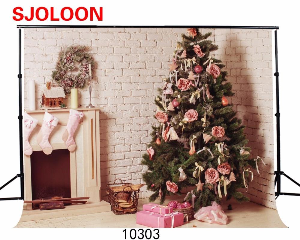 цены  SJOLOON  Christmas  backdrop Christmas backdrops photography Fond studio photo vinyle   300X200cm Photo backdrop