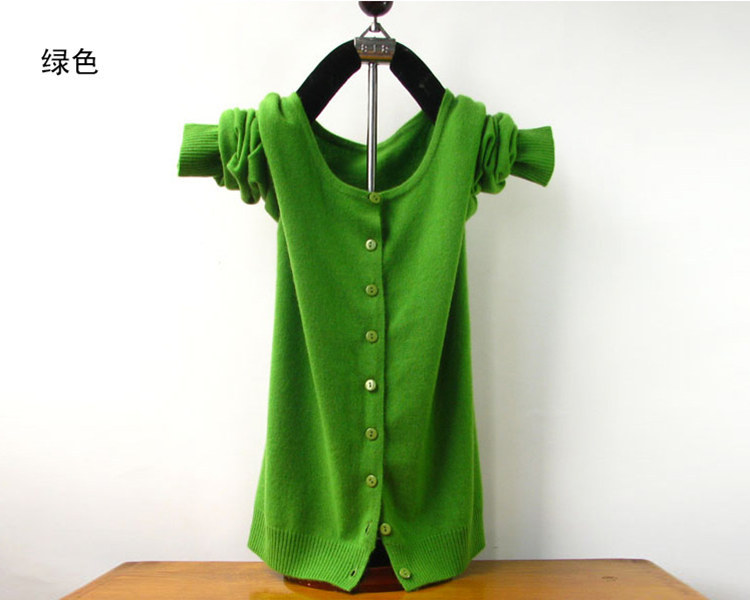 2019 Spring autumn cardigan sweater women o-neck cardigans wool sweater female short coat  free shipping