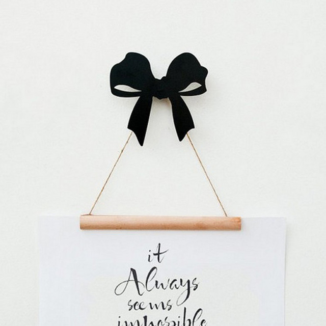 bow wall decor - Take.thisweeksplaylist.co